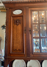 Close up of Detail on French Cabinet Hutch