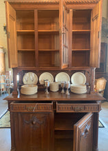 Inside of French Cabinet Hutch