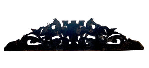 Black Forest Style Cornice with Deer w/Antlers and Griffins