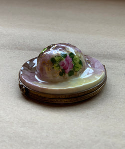 Floral Ladies Hat Limoges