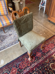 Photo of cushion on French Chippendale Side Chair