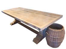 Reclaimed Light Wood Dining Table