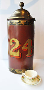 Tall Tea Tin #24