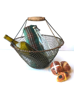 Round Basket with Handle