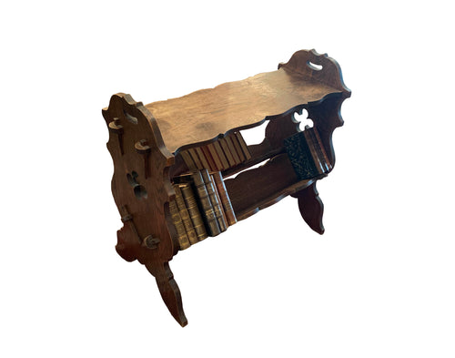 Neo Gothic Style English Library Bookstand
