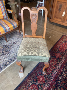 Front of French Chippendale Side Chair