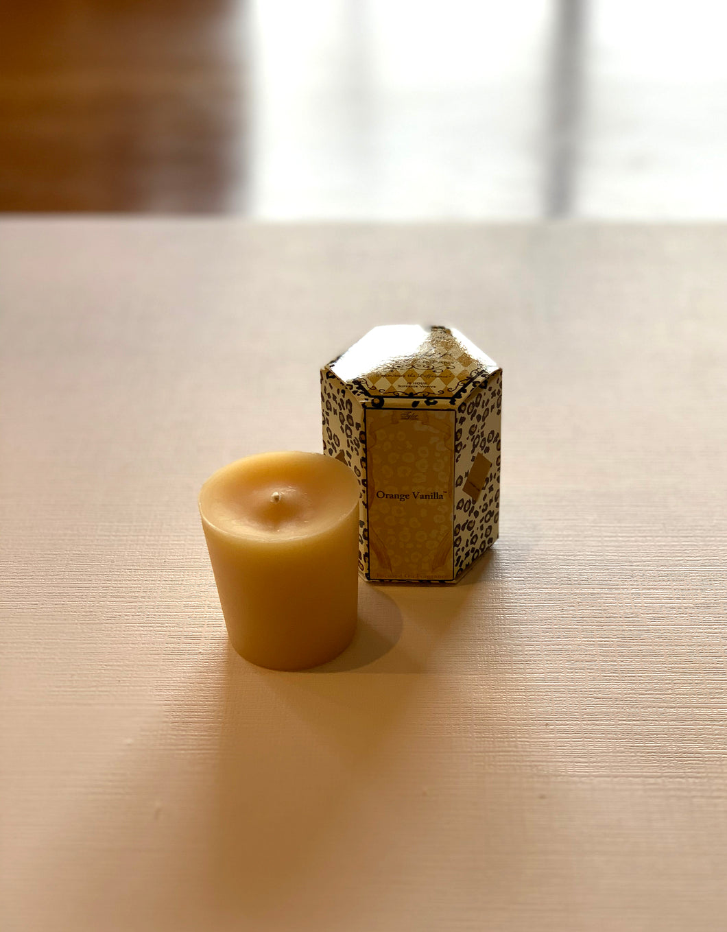 Orange Vanilla votive