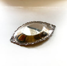 Bottom of Decorative Small Platter, Silver Dish