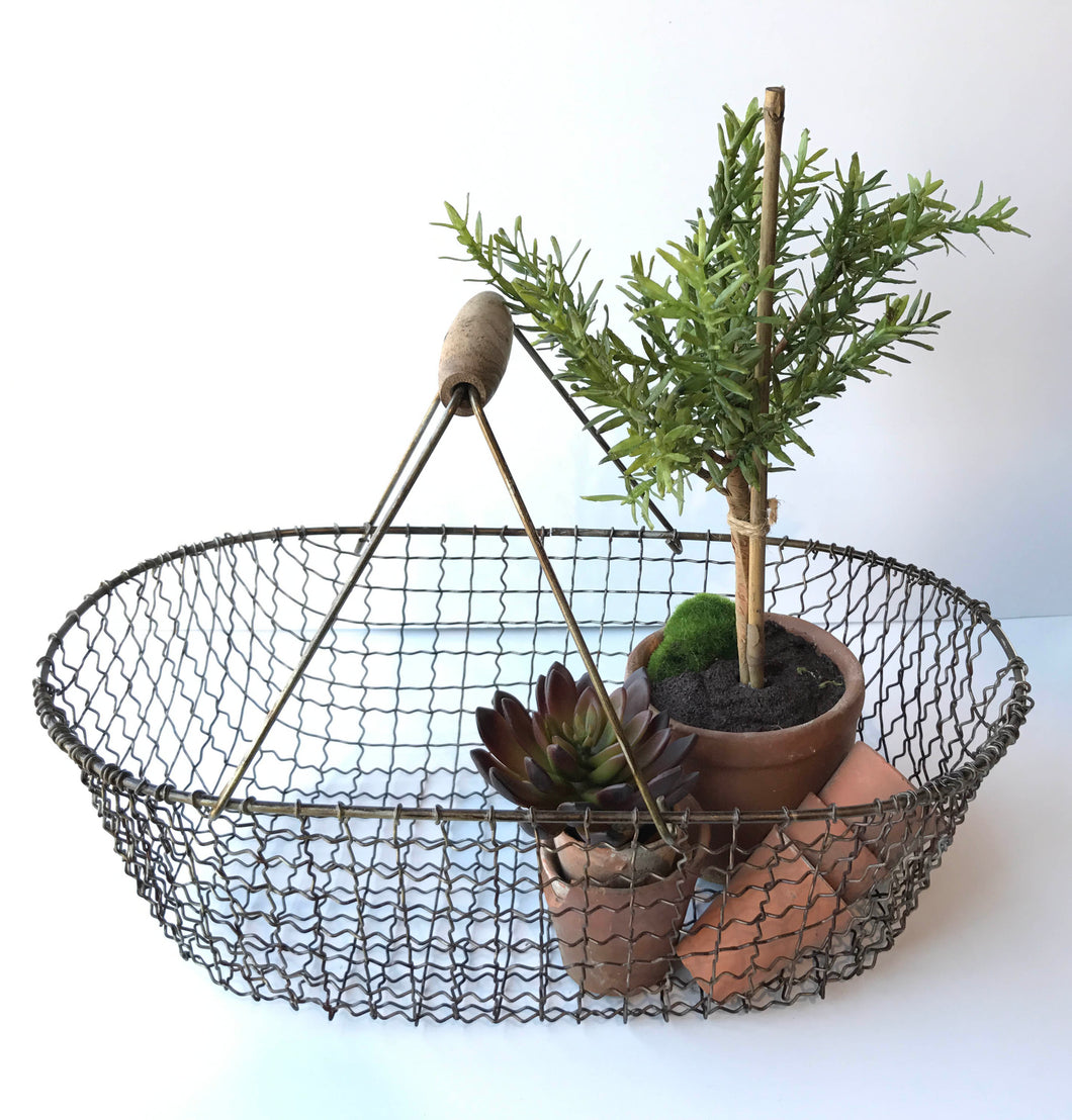 Metal Potato Basket