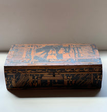 European Primitive Marquetry Box
