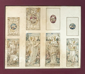Framed Print of Various Goddesses