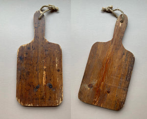 Wood Bread Board, with handle