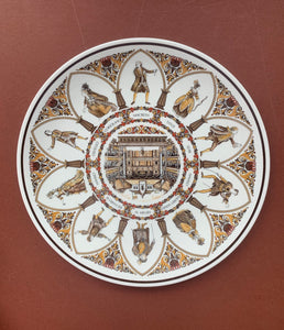 Shakespeare Plate - All the World's a Stage