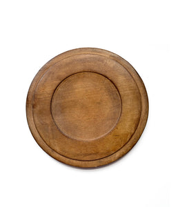 Small European Round Bread Board
