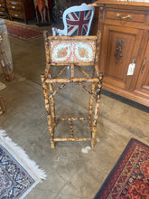 Bamboo Umbrella Stand with Tile
