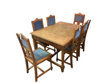 Table set, Louis XVI Style Dining Table and 6 Dining Chairs
