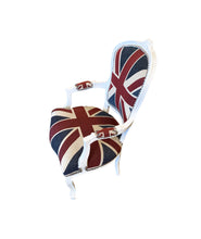 CHAIR, UNION JACK ARM CHAIR