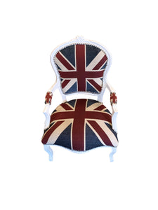 Front of Union Jack Arm Chair