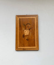 Small Marquetry Wood Panel