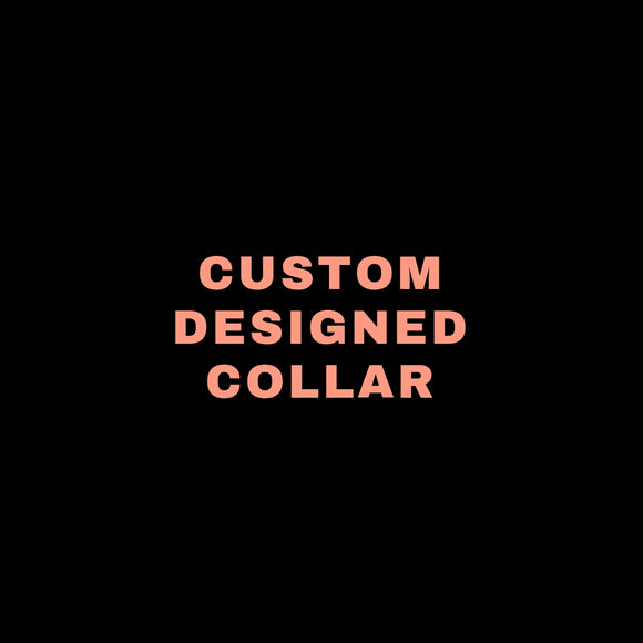 "CUSTOM DESIGNED COLLAR - 5/8"" - JASPER"