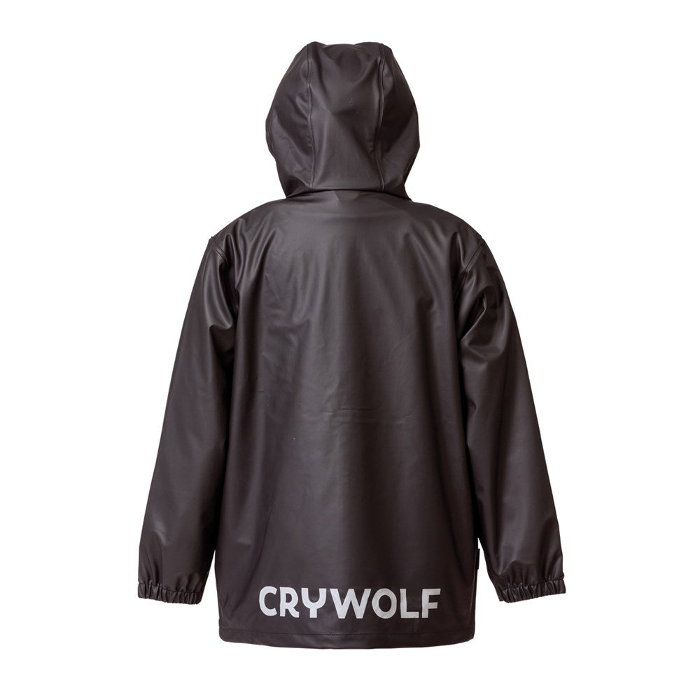 crywolf play jacket children's rain coat rear