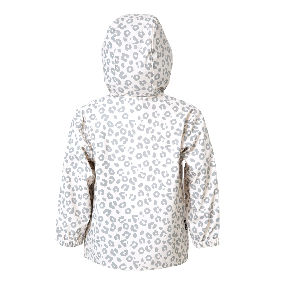 crywolf play jacket children's rain coat leopard back