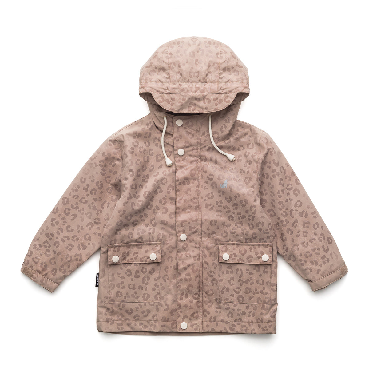 MAGIC JACKET Leopard Taupe 11-14yrs