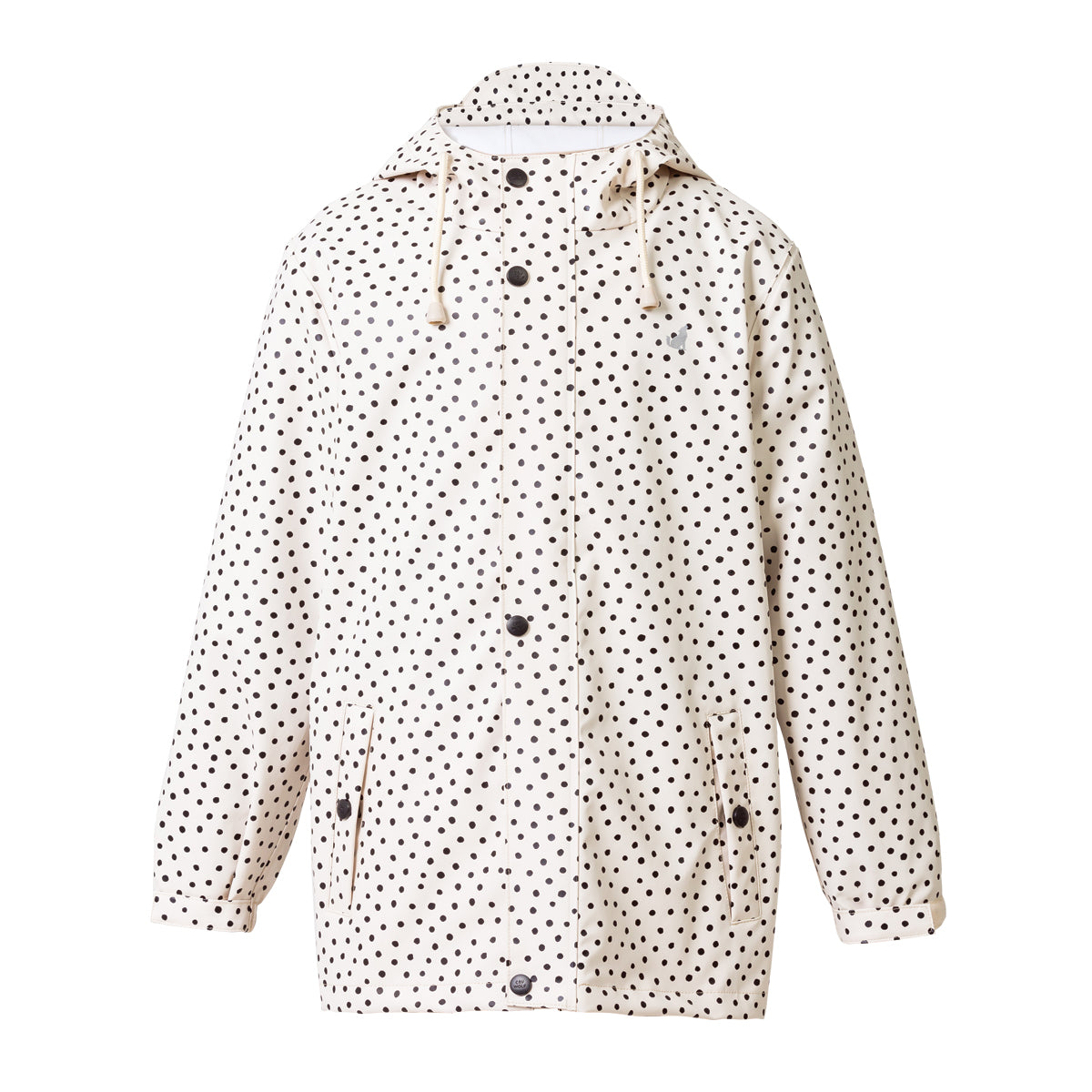 crywolf play jacket spots children rain coat front