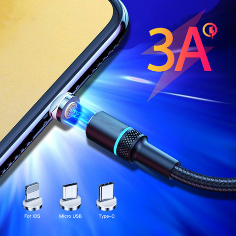 3 Amps 360° Magnetic Charging Cable