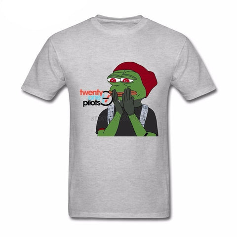 Twenty One Pilots Pepe  Cotton T-shirt