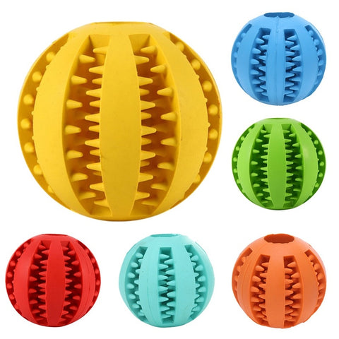 Dog Teeth Cleaning Toy Ball