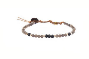 Lotus and Luna Healing Bracelets 6MM - Paddles Up Paddleboards