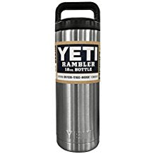 YETI Rambler 18oz Vacuum Insulated Stainless Steel Bottle with Cap - Paddles Up Paddleboards