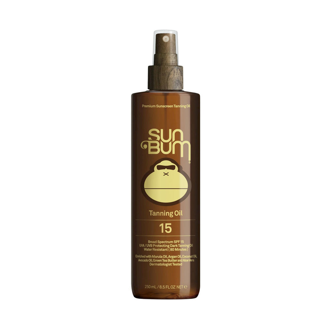 Sun Bum Premium Sunscreen Tanning Oil SPF 15 8.5FL OZ - Paddles Up Paddleboards