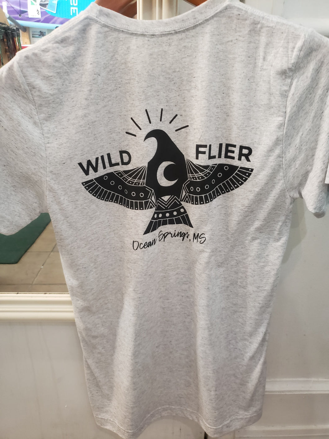 Wild Flier Men's T-Shirt - Paddles Up Paddleboards