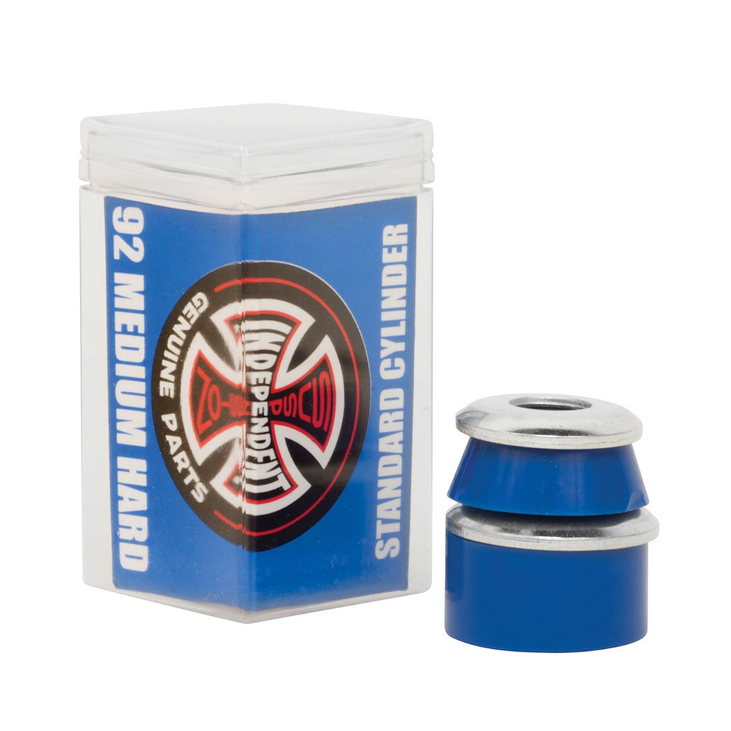 Independent Truck Bushings Standard Cylinder Cushions Medium Hard 92a-Blue - Paddles Up Paddleboards