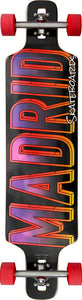 "Madrid DTF 39"" Sky Fighter Complete Longboard"