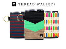 Thread Wallet Elastic Card Holder - Paddles Up Paddleboards
