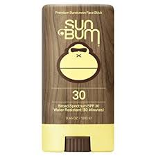 Sun Bum Premium Sunscreen Face Stick SPF 30-0.45 OZ - Paddles Up Paddleboards