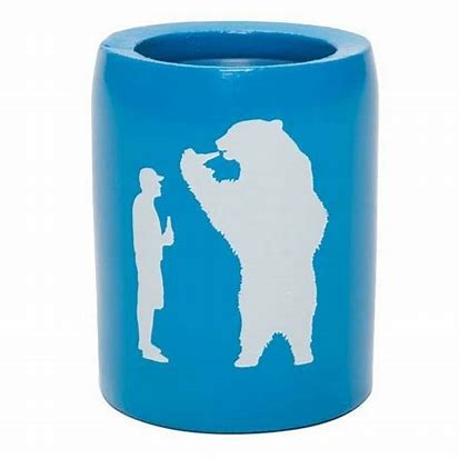 Yeti Beer with Bear Can Insulator - Bahama Blue - Paddles Up Paddleboards