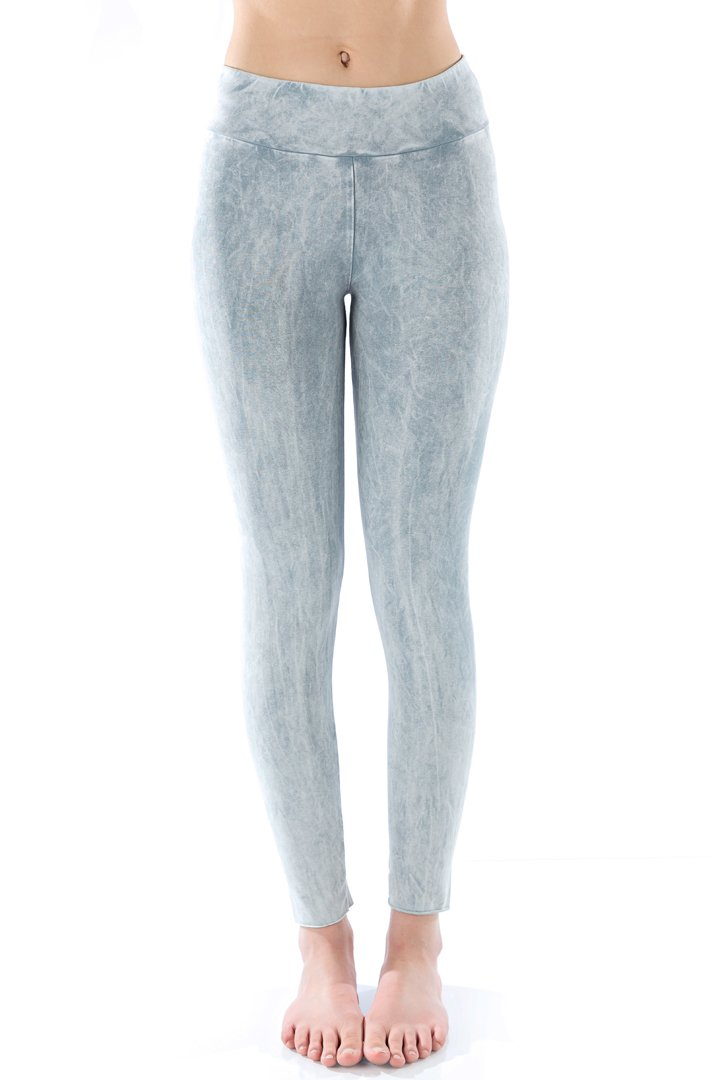 LVR Organic Basic Legging - Cool Gray Mineral - Paddles Up Paddleboards
