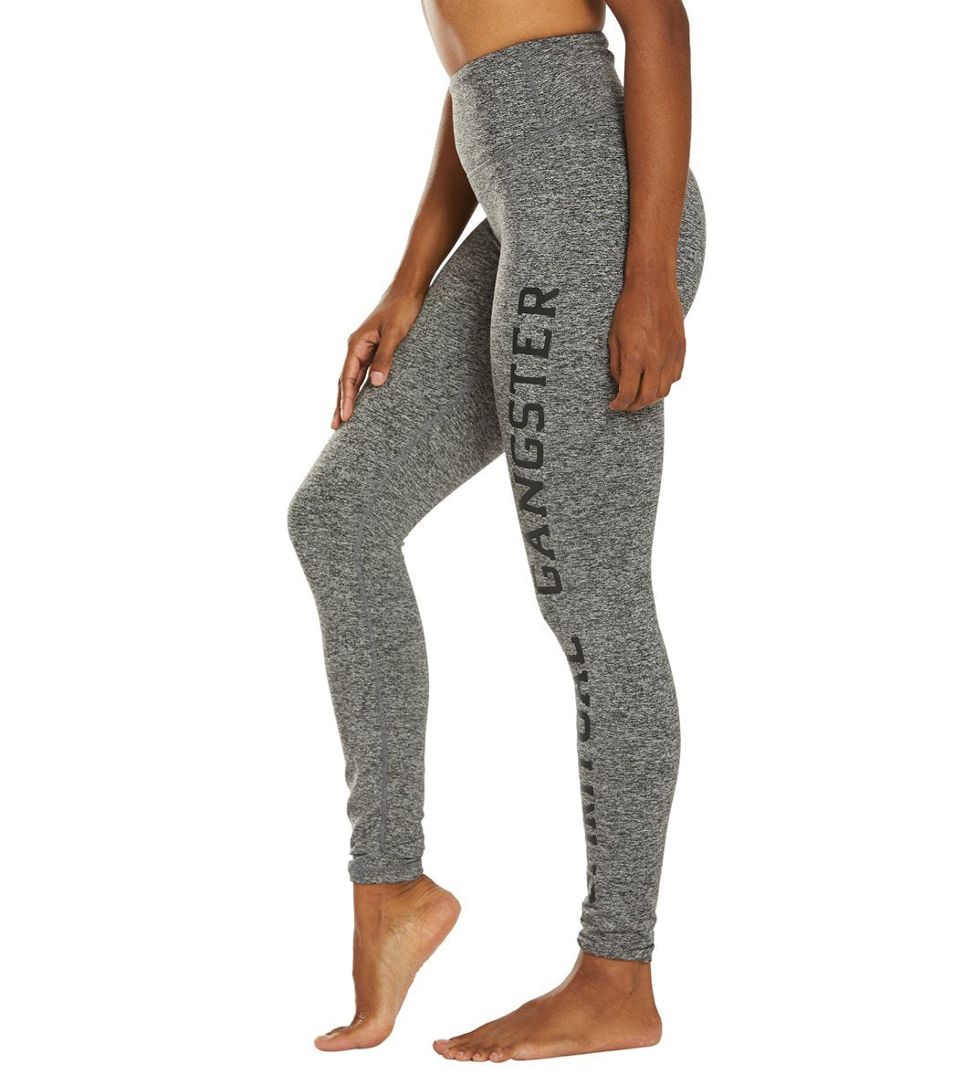 Spiritual Gangster Perfect High Waist Legging-Heather Grey - Paddles Up Paddleboards