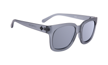 Spy Shandy Sunglasses Grey with Silver Mirror