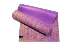 EcoStrength Purple Orchid Hemp and Jute Blend Yoga Mat