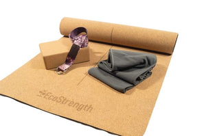 EcoStrength Cork Yoga Mat