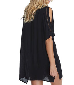 Raisins Samba Caftan V-Neck Swim Cover Up