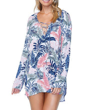 Raisins Not So Bora Bora Hooded Swim Cover Up Dress