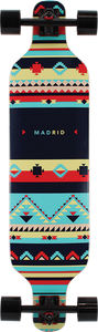 "Madrid Dream 39"" Inca Top Mount Complete Longboard"