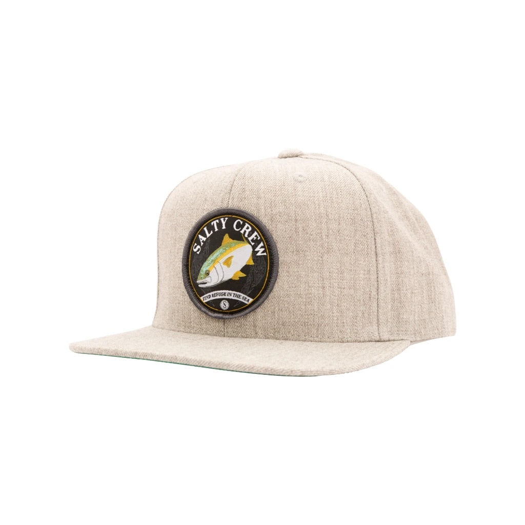 Salty Crew Homeguard 6 Panel Hat-Oatmeal