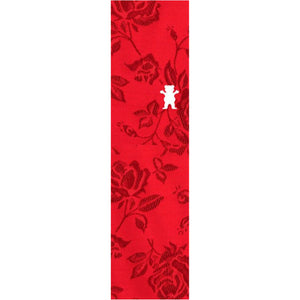 Grizzly Bear Rose Thread OG Red Cut-Out Grip Tape
